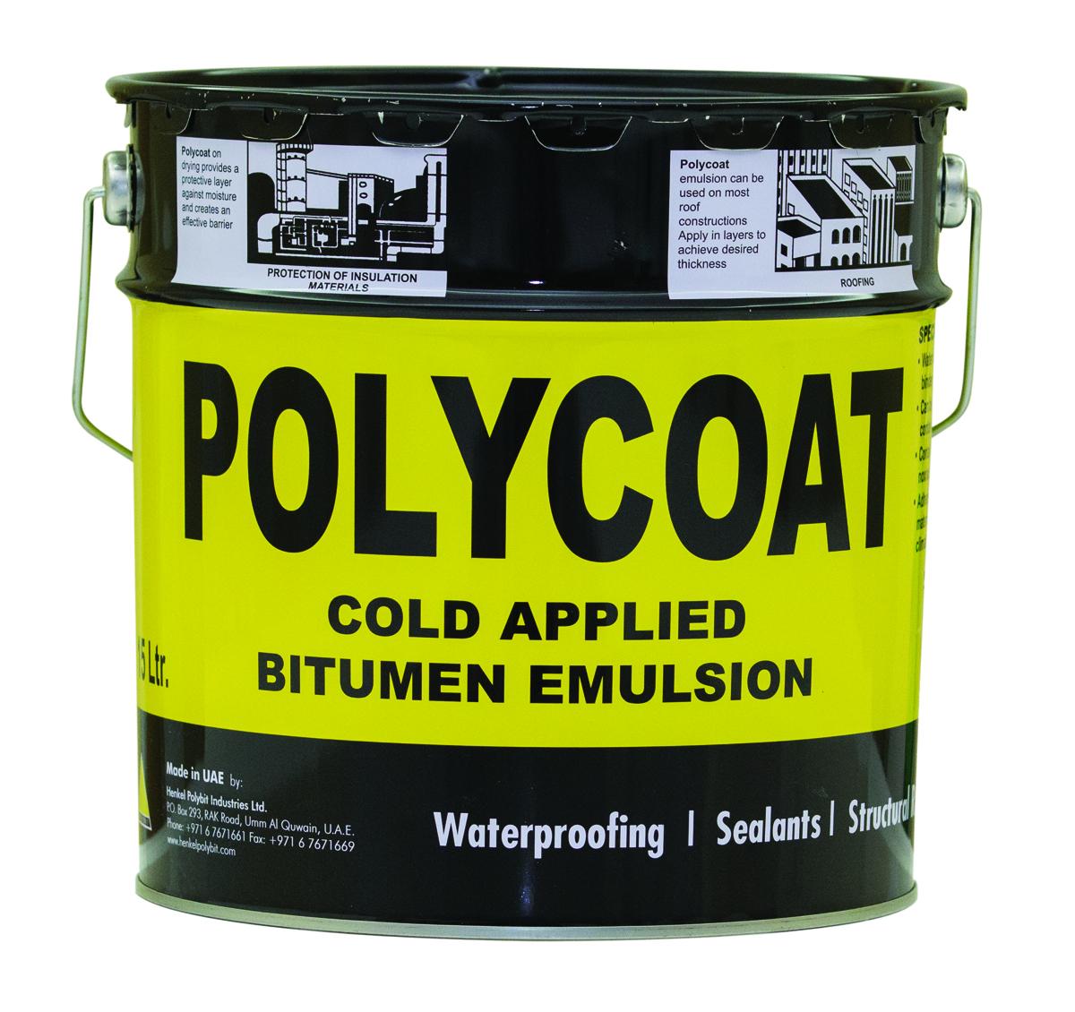 800benaa Polycoat Bitumen Emulsion 15 Ltr Polybit